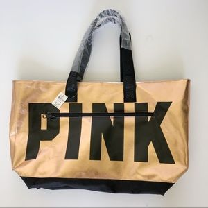 NWT PINK Copper Tote Bag